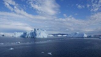 Disko Bay - Icebergs in Disko Bay