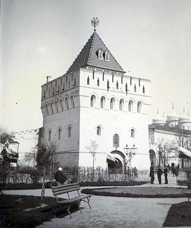 Dmitrievskaya Tower of Nizhny Novgorod Kremlin 1896