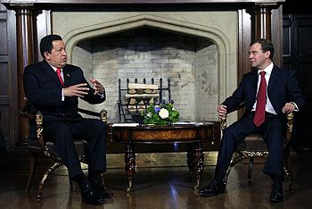 Dmitry Medvedev and Hugo Chavez 10 September 2009-3