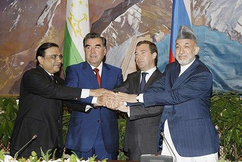 Dmitry Medvedev in Tajikistan 30 July 2009-2