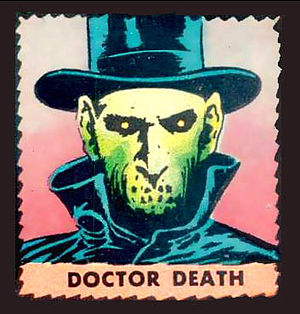 This Magazine Is Haunted -  Haunted's cadaverous host, Doctor Death.