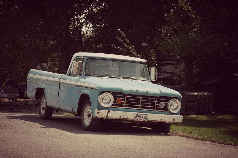 File:Dodge D-Series pickup truck (9524509602).jpg