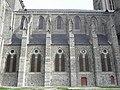 Dol-de-Bretagne (35) Cathédrale Flanc nord de la nef 01.JPG