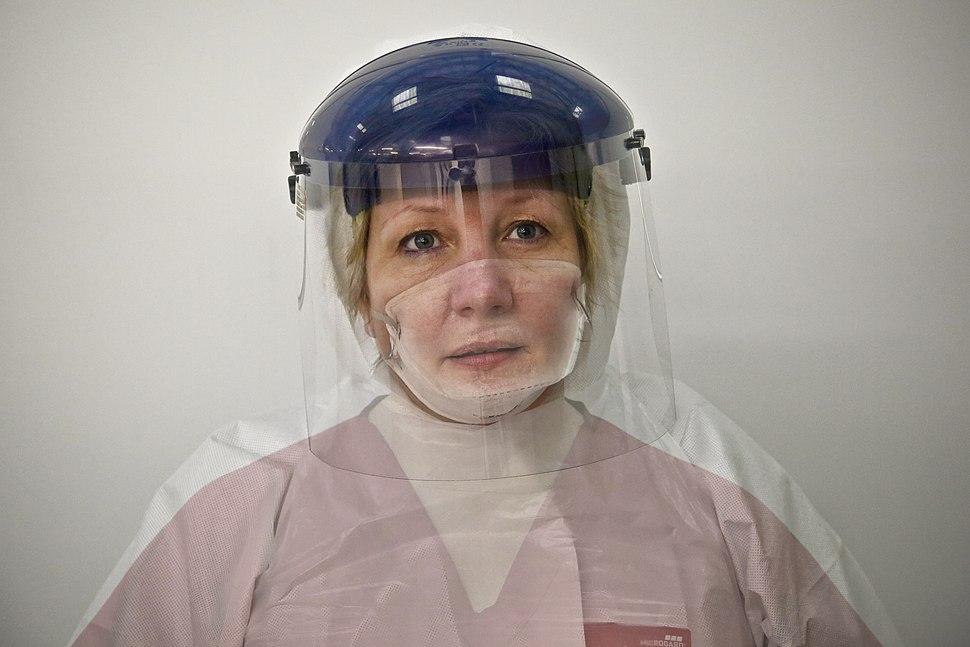 Donna Wood, Nurse and NHS Ebola volunteer (15652582937)
