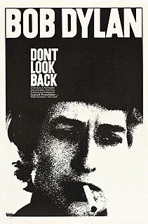 <i>Dont Look Back</i> 1967 documentary film directed by D. A. Pennebaker