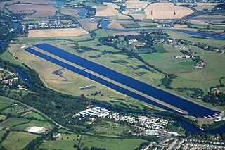 Dorney Lake Reservoir near Eton and Windsor, England