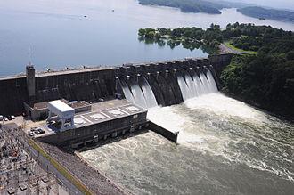 Douglas Dam - Douglas Dam from downstream