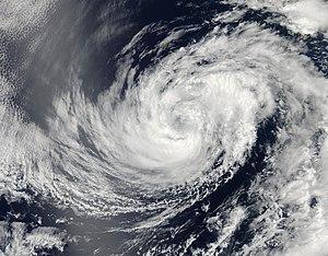 2014 Pacific hurricane season - Image: Douglas Jul 1 2014 2100Z
