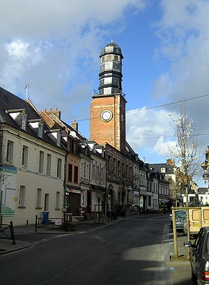 Doullens - Image: Doullens beffroi 1