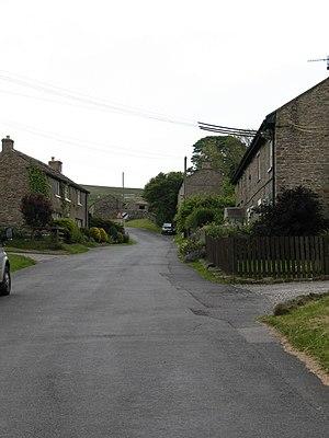 Downholme - Image: Downholme village street
