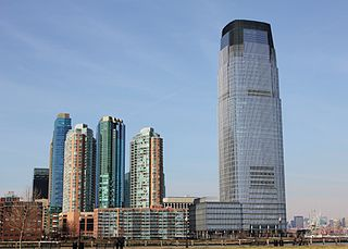 human settlement in Jersey City, New Jersey, United States of America