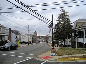 Milltown, New Jersey - Downtown Milltown