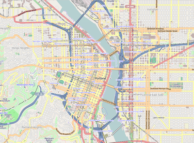 TemplateLocation Map USA Portland Downtown Wikipedia - Portland usa map
