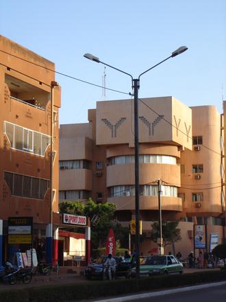 Economy of Burkina Faso - Image: Downtown ouaga 2