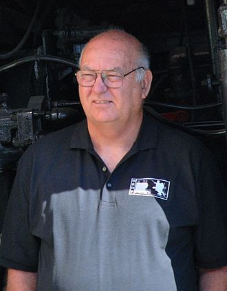 Doyle McCormack - McCormack at the opening of the Oregon Rail Heritage Center in 2012