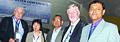 Dr Constantin Stere, Natsuko Totsuka, Gerrit Klaassen with Er. Arnab Jan Deka.JPG