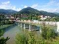 Dravograd, old bridge over the Drava, from right bank.jpg