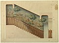 Drawing, Design for Portion of Stairway in Château-sur-Mer, Newport, Rhode Island, 1872 (CH 18557505).jpg