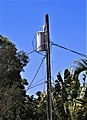 Duke Energy transformer with lines to three houses in Park View Estates, Largo, Florida 2.JPG