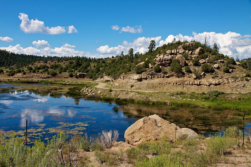 File:Dulce Lake, Jacarilla Apache Nation, New Mexico, USA.jpg