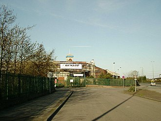 Dunlop Aircraft Tyres - Entrance to the site