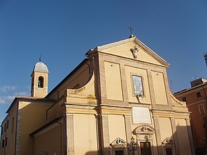 Monterotondo - The Cathedral of Monterotondo.
