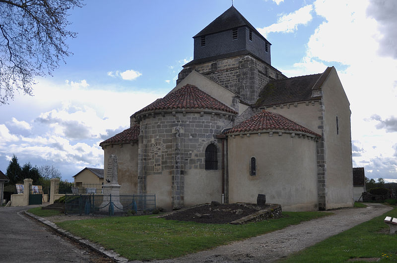 File:EGLISE DE TRESNAY département de la Nièvre, France..jpg