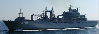 Protecteur-class auxiliary vessel - Image: EGV Berlin