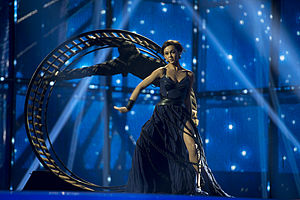 Ukraine in the Eurovision Song Contest 2014 - Mariya Yaremchuk at the first semi-final dress rehearsal