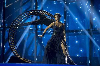 Ukraine in the Eurovision Song Contest 2014 - Mariya Yaremchuk at the first semi-final dress rehearsal