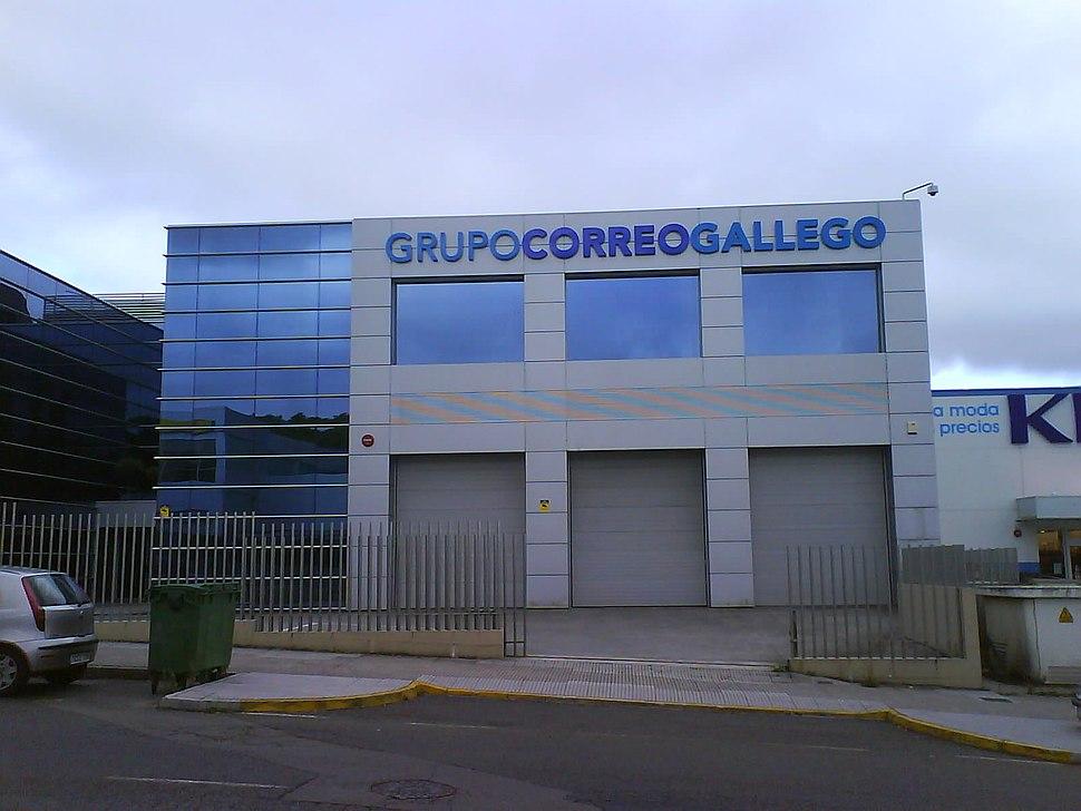 Edificio Grupo Correo Gallego, Santiago de Compostela