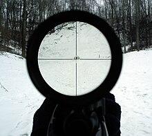 telescopic sight wikipedia