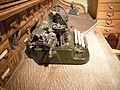 Edmonds Historical Museum - Oliver typewriter 02.jpg