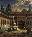 Eduard Gerhardt Der Löwenhof der Alhambra.jpg