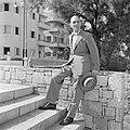 Edward A. Norman van Macy's N.Y. tijdens zijn bezoek aan Israel in 1949 als pres, Bestanddeelnr 255-1444.jpg