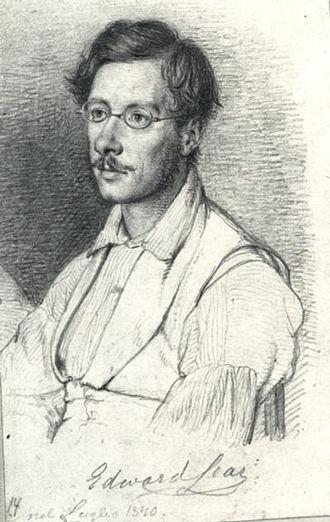Edward Lear - Lear by Wilhelm Marstrand