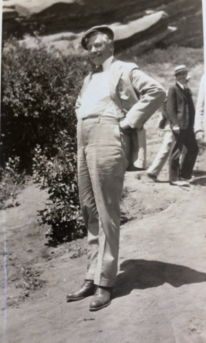 Edward Bassett - Image: Edward Murray Bassett standing & smiling, 1930