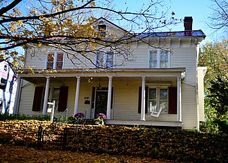 National Register of Historic Places listings in Howard County, Missouri - Image: Edwin and Nora Payne Bedford House