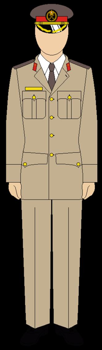 Egyptian Army Uniform - Summer (generals)