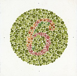 Eight Ishihara charts for testing colour blindness, Europe Wellcome L0059155