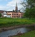 Eisbach, Rathaus und protestantische Kirche - panoramio.jpg