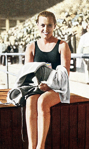 Eleanor Holm - Holm at the 1932 Olympics