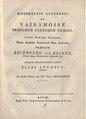 Elias Lönnrot - De Väinämöine, priscorum Fennorum numine (1827).pdf