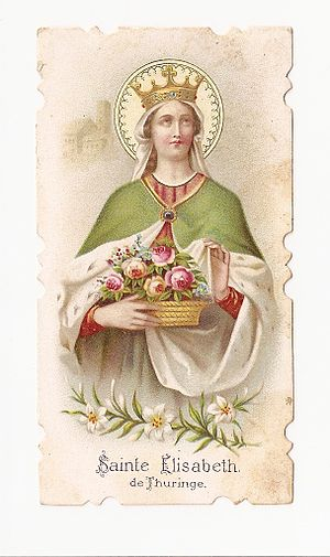 Miracle of the roses - St. Elisabeth of Thuringia, Miracle of the roses