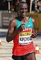 Eliud Kipchoge at the 2012 World Half Marathon Championships in Kavarna, Bulgaria.jpg