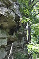 Elizabeth Furnace - Climber on unknown climb left of Fortis - 4.JPG