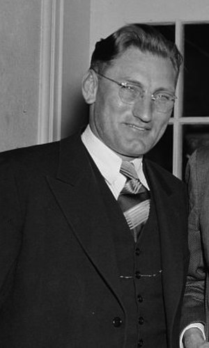 Ellis E. Patterson - Patterson in 1938