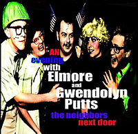 An Evening With Elmore & Gwendolyn Putts, The Neighbors Next Door cover