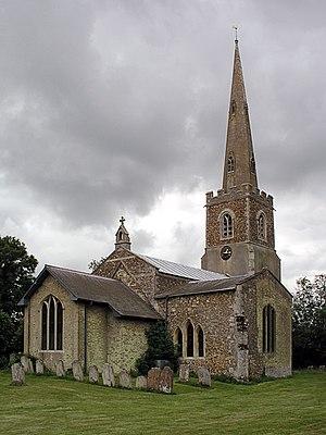 Eltisley - Image: Eltisley church geograph.org.uk 2833