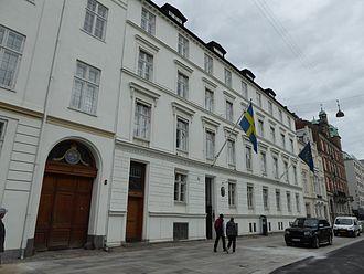 Sankt Annæ Plads - Embassy of Sweden